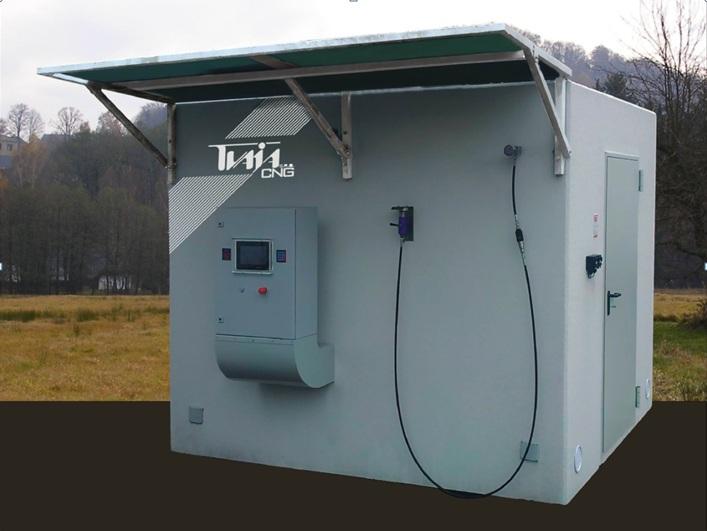 Blue Line 20 CNG töltőállomás