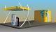 CNG Port Blue Line 50 CNG töltőállomás