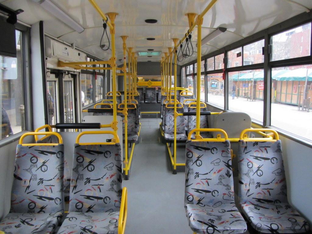Jelcz CNG busz belső