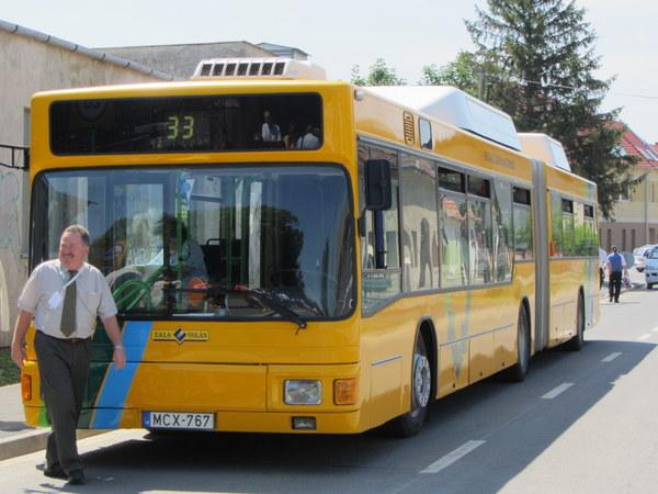 Megálló Zalaegerszegen