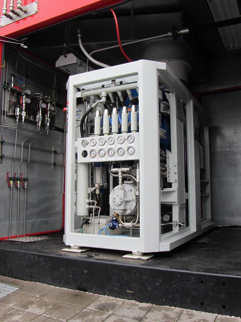 Aspro SCA-50 CNG kompresszor