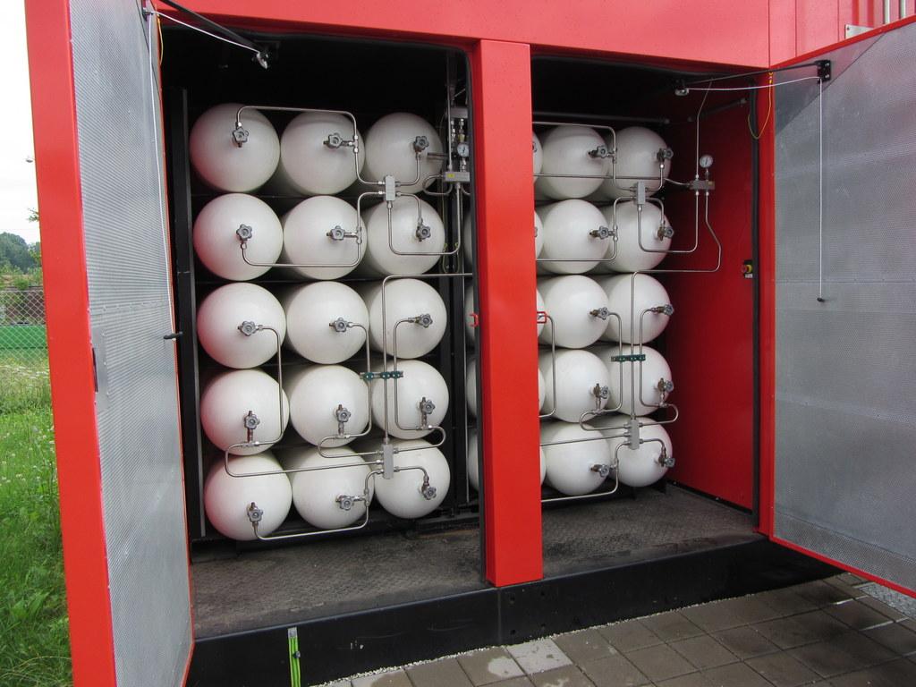 CNG tárolóköteg